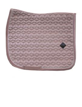 Kentucky Horsewear Saddle Pad Velvet Pink - 1