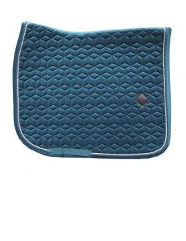 Kentucky Horsewear Saddle Pad Velvet Emerald - 1