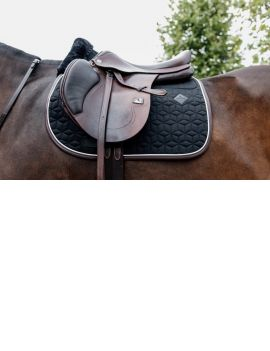 Kentucky Horsewear Saddle Pad Jumping skin friendly black - 1