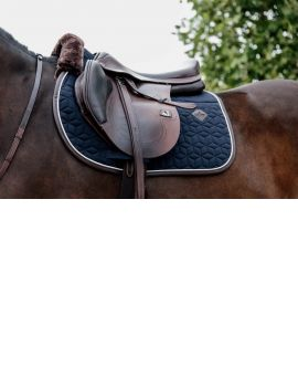 Kentucky Horsewear Saddle Pad Jumping skin friendly navy - 1