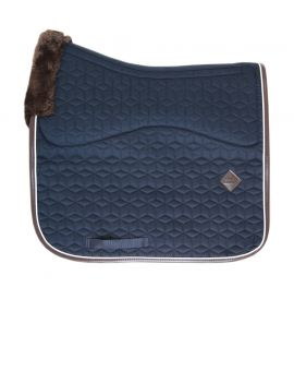 Kentucky Horsewear Saddle Pad Dressage skin friendly navy - 1