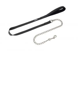 Eskadron Leading Rope with nickel chain - 1