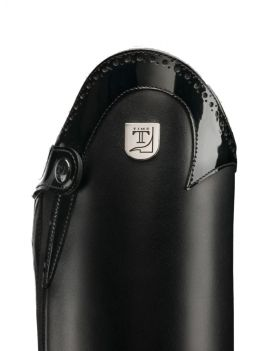 Tucci riding boots Marilyn punched patent - 3
