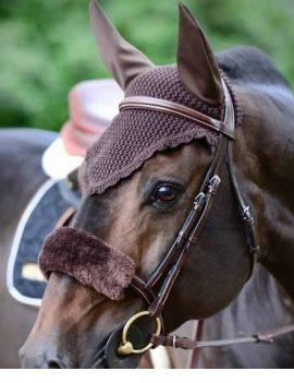Kentucky Horsewear fly veil soundless ears - 1