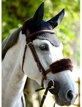Kentucky Horsewear fly veil soundless ears - 7