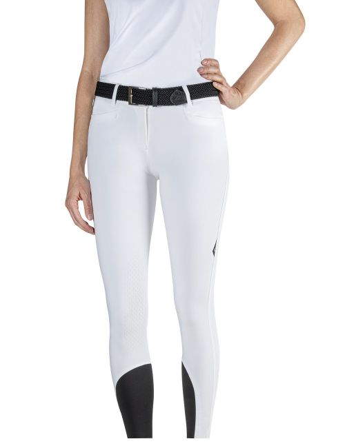Equiline riding breeches knee grip Ash - 4