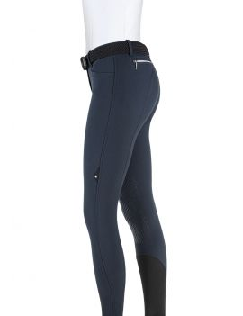 Equiline riding breeches knee grip Ash - 3
