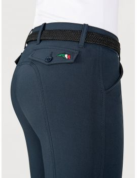 Equiline riding breeches knee grip Bice - 4