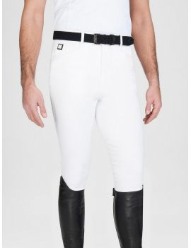 Equiline riding breeches knee-grip Curtis white - 2