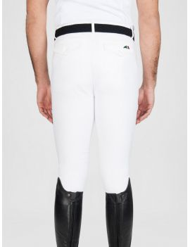 Equiline riding breeches knee-grip Curtis white - 3