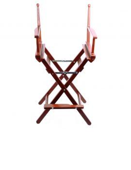 One Wooden Frame Director Chair - 2